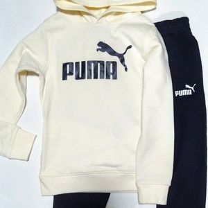 PUMA 2pc SET BOYS Hoodie & Sweatpants Size 6